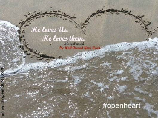 Wall Around Your Heart He loves us He loves them